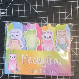 Meowgical page Markers